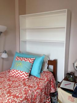 Empty Bed Shelf