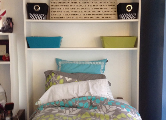 Bed Shelf - two semesters