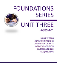 Foundations Unit 3