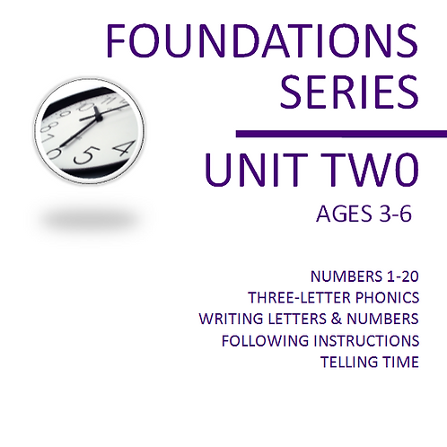 Foundations Unit Two (Printed + Digital)