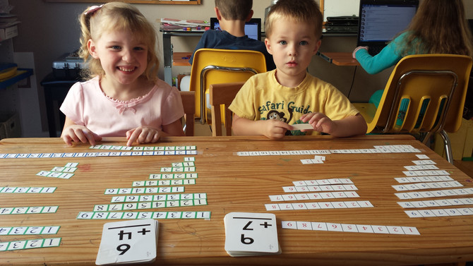 Hands-On Learning:  Addition