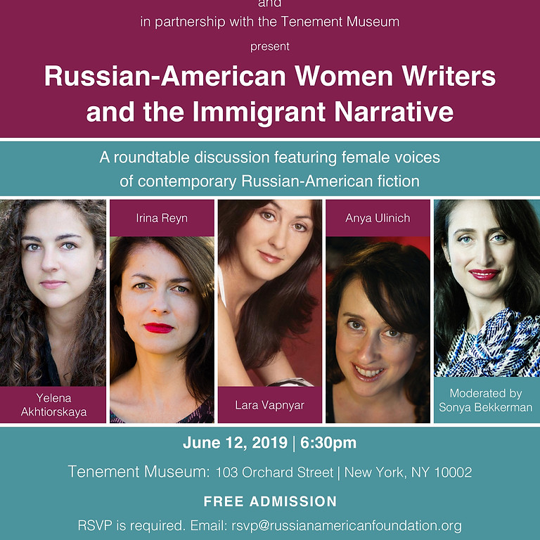 Russian-American Women Writers and Immigrant Narrative