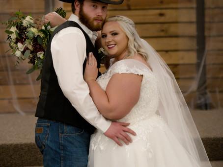 Sneak Peek Madison & Garet Wedding