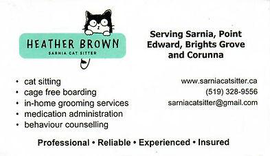 Sarnia Cat Sitter