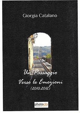 """Cover di """"Un passaggio verso le emozioni"""", silloge di poesia di Giorgia Catalano"""