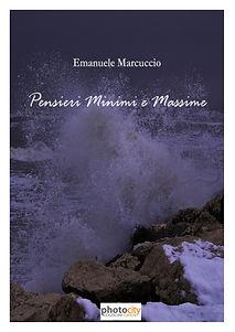 """Cover di """"Pensieri Minimi e Massime"""" di Emanuele Marcuccio"""