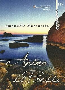 """Cover di """"Anima di Poesia"""" di Emanuele Marcuccio"""