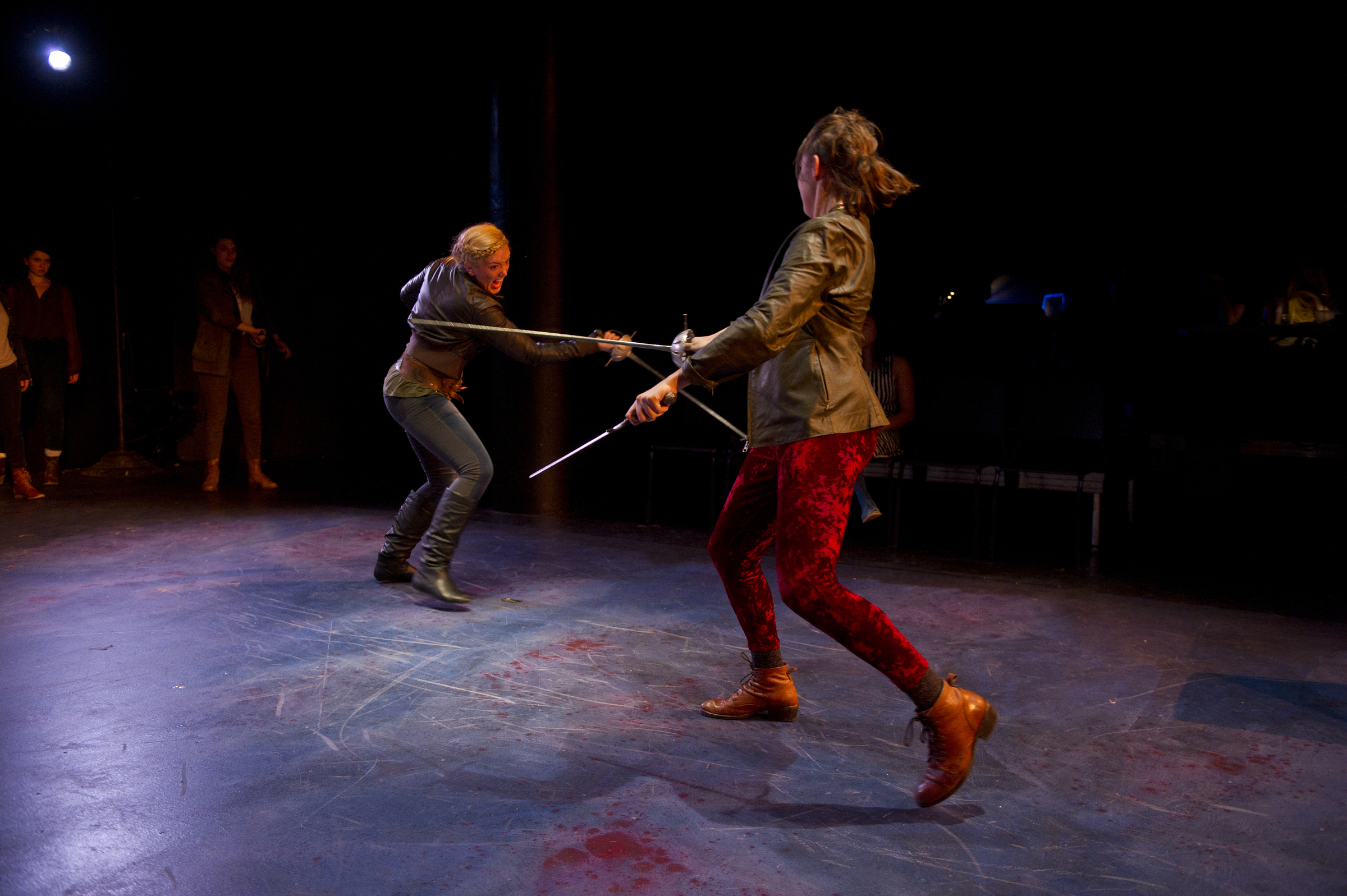 Mercutio and Tybalt Fight