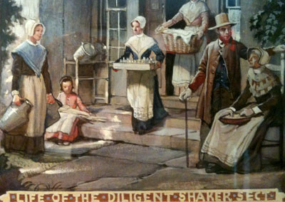 """""""The Life of the Diligent Shaker Sect"""" - Shaker Historical Society"""