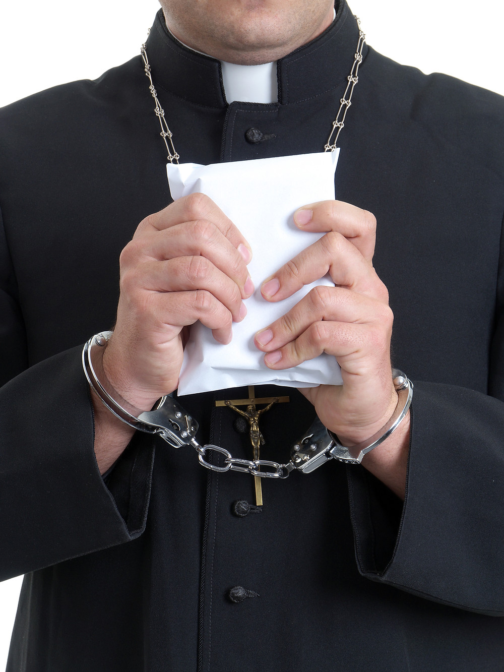 The priest in this story has not been arrested, but he should be...