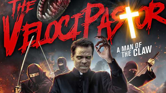 WTF: There Is A Movie About A Priest Who Turns Into A Dinosaur To Fight Ninjas