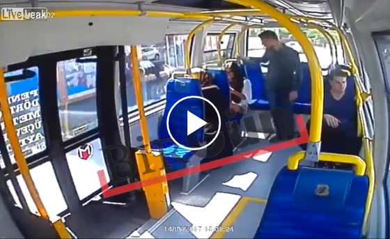 Man Hits Woman In The Face On A Bus In Istanbul Because She Was Wearing Shorts