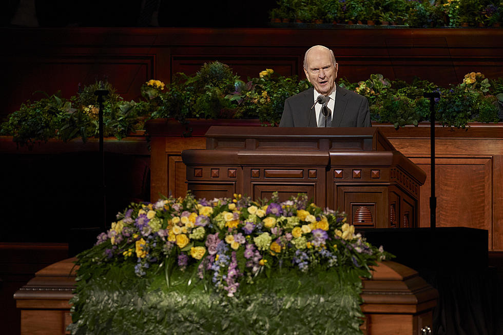 """Russell M Nelson, president of """"the Church"""" (Photo by Mason Coberly)"""