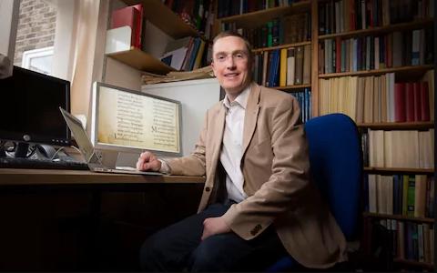 Dr. Hugh Houghton of Birmingham University