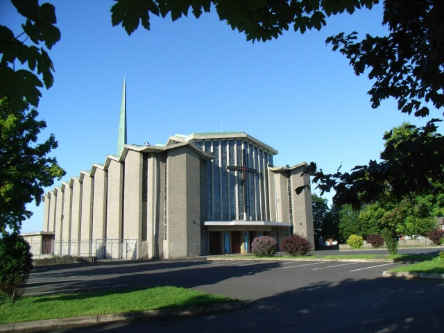 The Church of the Annunciation in Finglas West