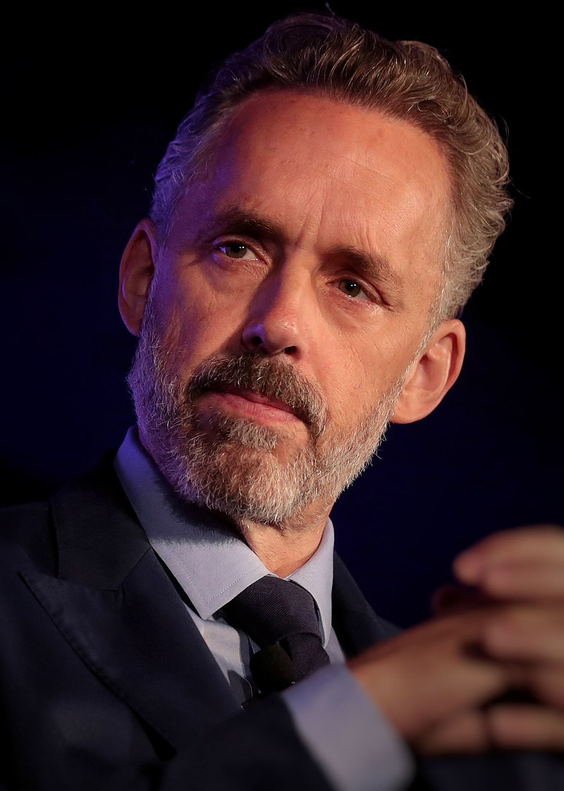 Jordan Peterson, thankfully his mouth is closed, so he isn't saying something stupid in this moment.
