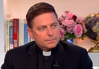 Click this link to watch Father John Morris say some pretty awful things.