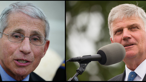 Franklin Graham To Dr. Fauci 'Science Isn't Truth-God Is'