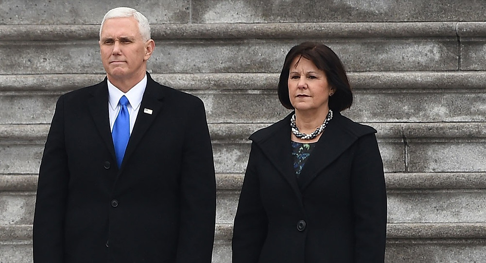 Mike and Karen Pence (Getty Images)