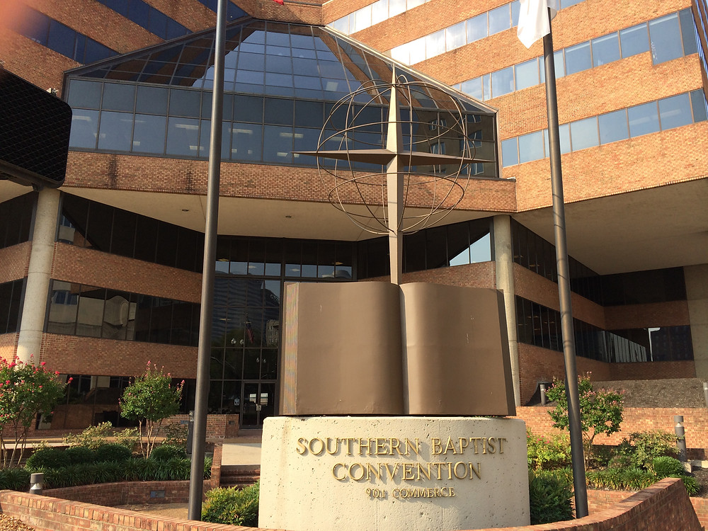 The headquarters of the Southern Baptist Convention in Nashville, TN.