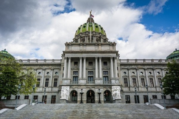 The Pennsylvania Capitol. (PennLive)