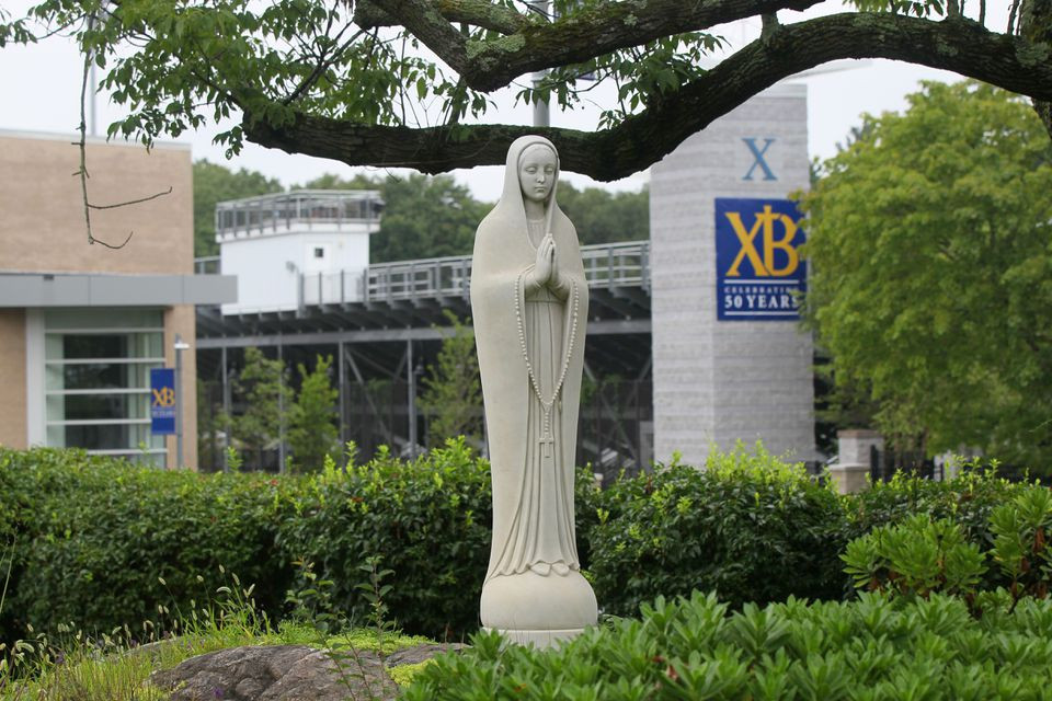 Xaverian Brothers High School in Westwood, MA. (JOANNE RATHE/GLOBE STAFF)