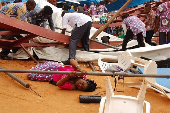 A Crowded Church in Nigeria Collapsed During a Ceremony, Killing at Least 160 People