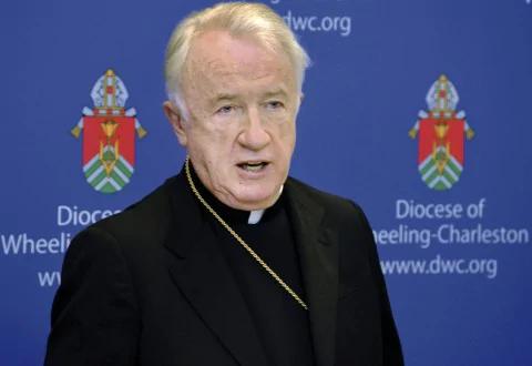 Michael J. Bransfield, then-bishop of the Diocese of Wheeling-Charleston, W.Va., in 2015. (Scott McCloskey/Intelligencer/AP)