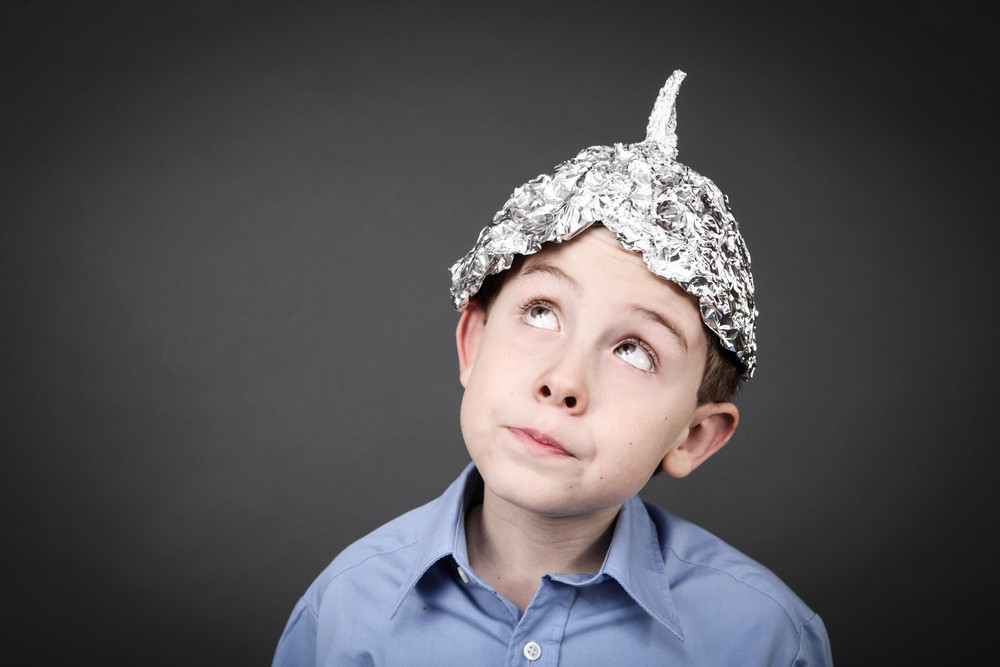 Get your tinfoil hats!