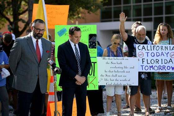 Florida: Pastor And State Rep. Sue County Over Mask Mandate