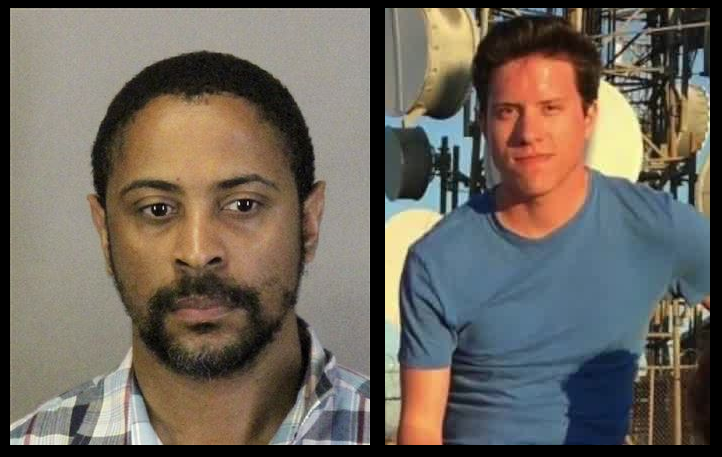 Isaiah Joel Peoples (left) struck eight people he believed were Muslims with his car on Tuesday in Sunnyvale. John T. Earnest (right) opened fire with a semi-automatic rifle at a synagogue in Poway on Saturday.