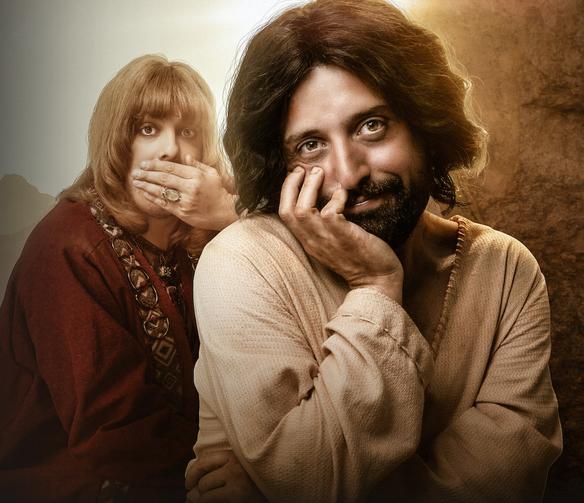 A Primeira Tentação de Cristo (The First Temptation of Christ) [Source: Netflix]