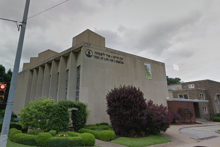 The Tree of Life Synagogue. (Google Street View)