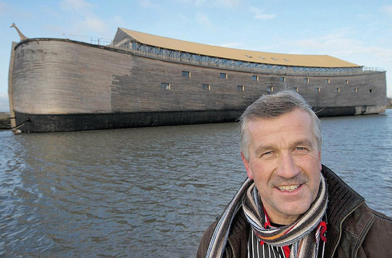 Dutchman Wants To Sail His Ark To Israel... Seriously