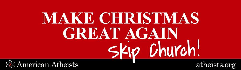 Skip church, indeed!
