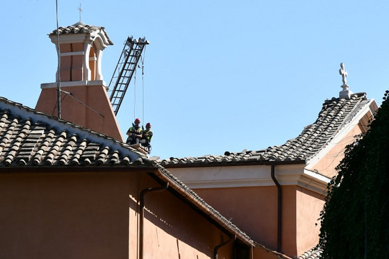 Roof Of 16th-Century Roman Church Collapses