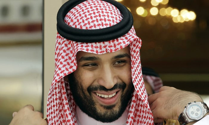 Crown Prince of Saudi Arabia, Mohammed bin Salman.