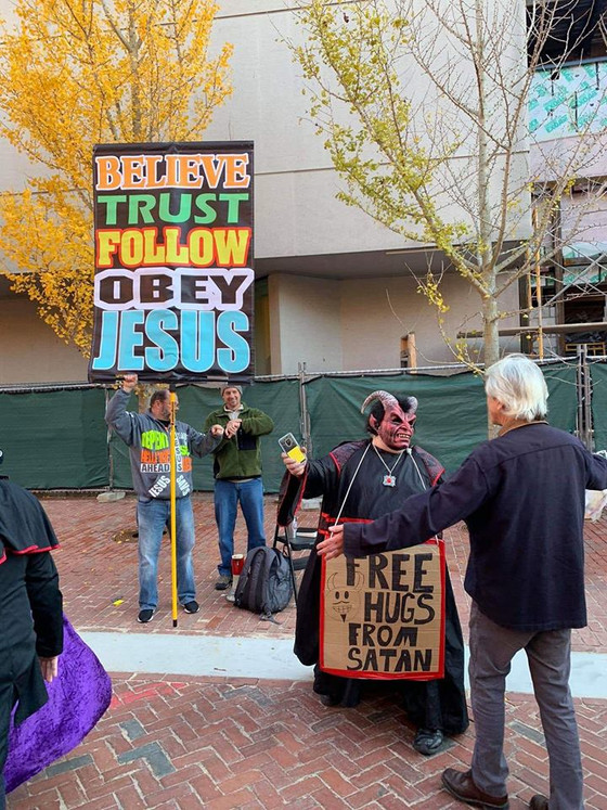 Satan Just Wants Hugs: The Salem Satan