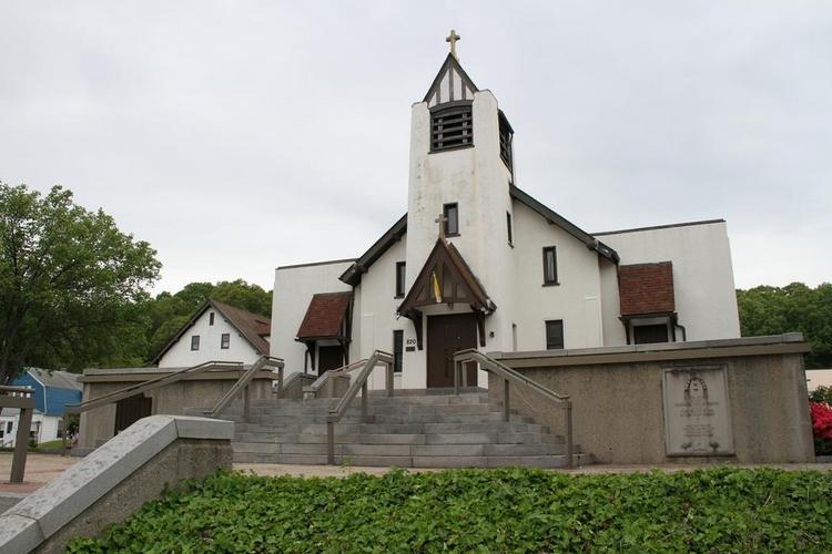 Sacred Heart Church in West Warwick, RI. (Providence Journal)