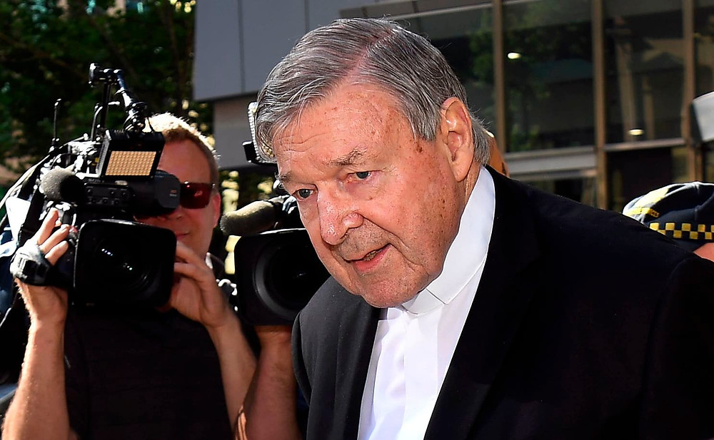 Cardinal George Pell in Melbourne in December, 2018. (William West/AFP/Getty Images)