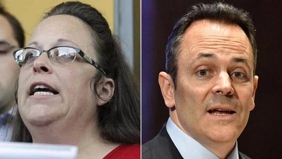 Kim Davis & KY Gov. Bevin Fight Over Who Owes $225K In Legal Fees