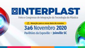 Atenção para a nova data da INTERPLAST 2020