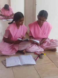 Students at the campus are trained to follow an ideal way of life that nurtures their body, mind and soul