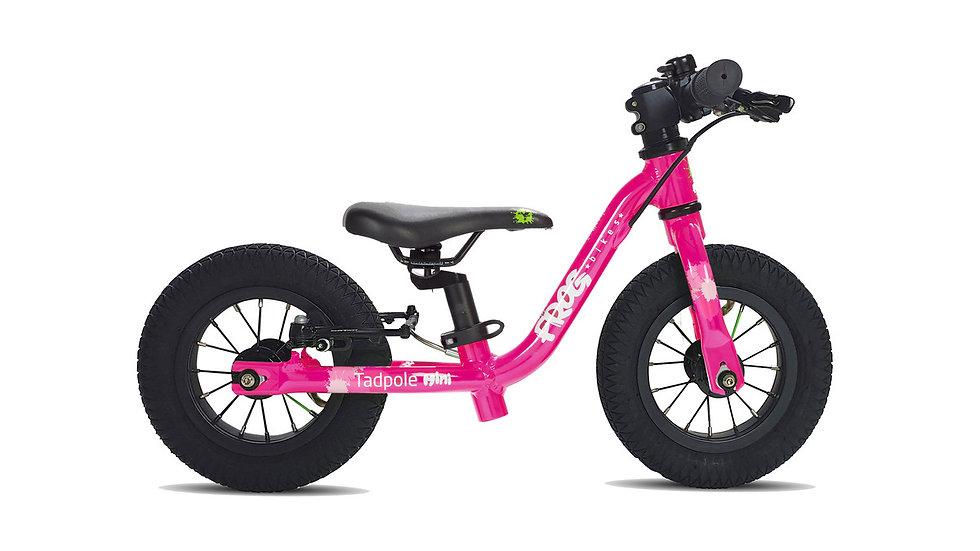 Frog Tadpole Mini Balance Bike (Pink)