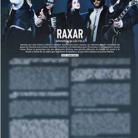 Raxar featured in Power Magazine Spain