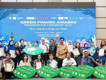 Green Pinang Awards Presentation Ceremony 2019