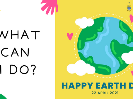 Earth Day 2021: What can we do?