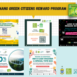 More Perks for Penang Green Citizens in 2021! Pledge Now!