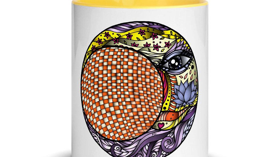 Mug with Color Inside Lunar Eclipse