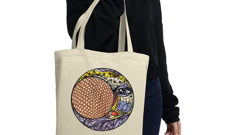 Eco Tote Bag Lunar Eclipse